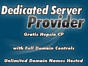 Moderately priced dedicated server account
